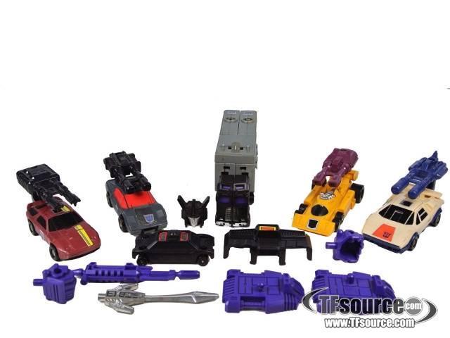 Transformers G1 - Menasor - Loose - Missing handguns