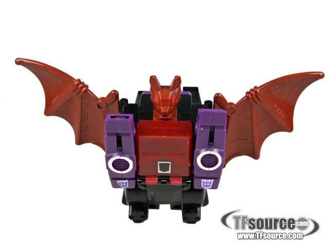 Transformers G1 - Mindwipe - Loose - Missing headmaster Vorath and gun