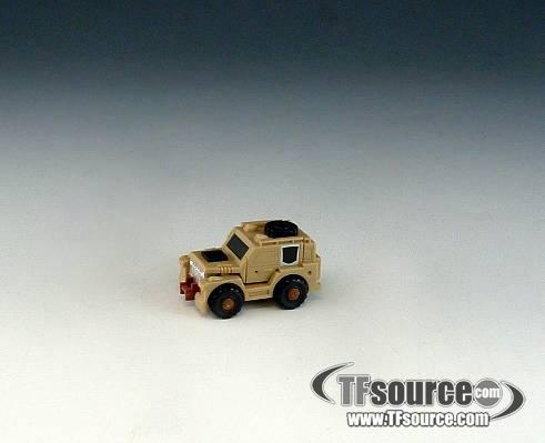 Transformers G1 - Outback - Loose - Missing Gun