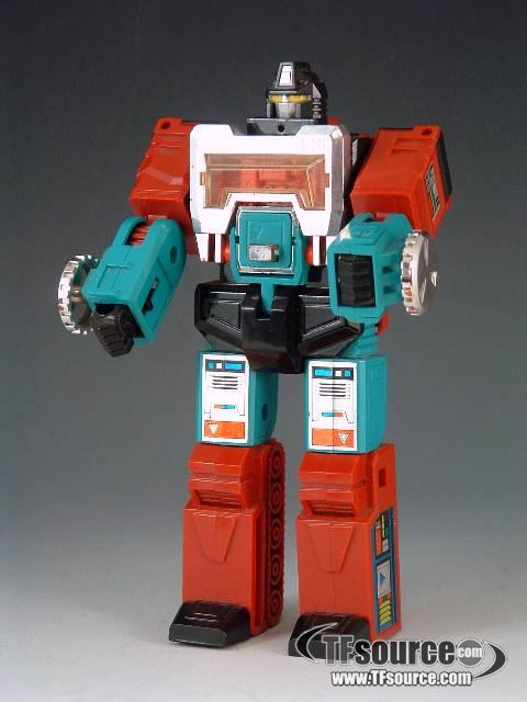 Transformers G1 - Perceptor - Loose - As Shown