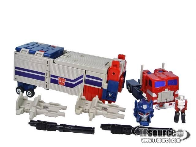 Transformers G1 - Powermaster Optimus Prime - Loose - 100% Complete