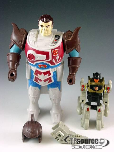 Transformers G1  - Pretender Grimlock - Loose - Missing  Rifle