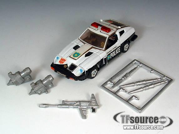 Reissue Commemorative Series  - Prowl - Loose - Silver Painted Weapons
