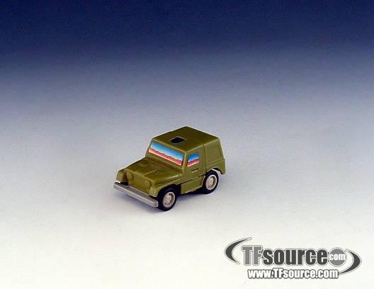 Transformers G1 - Throttlebot - Rollbar - Loose - 100% Complete