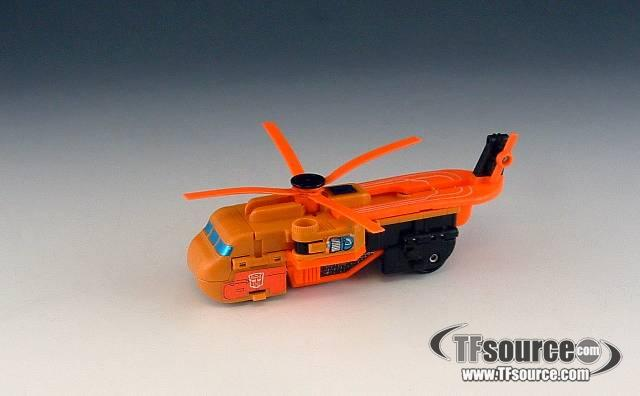 Transformers G1 - Sandstorm - Loose - No Sandblaster Gun