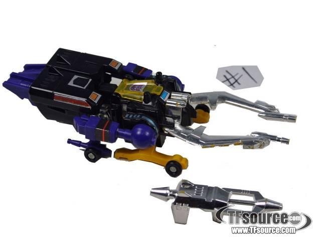Transformers G1 - Shrapnel - Loose - 100% Complete