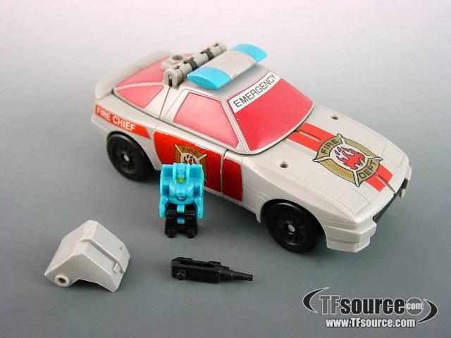 Transformers G1 - Siren - Loose - As Shown