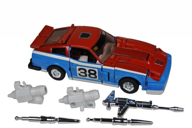 Transformers G1 - Smokescreen - Loose - Missing  missile