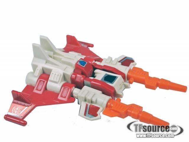 Transformers G1 - Strafe - Loose - Missing gun