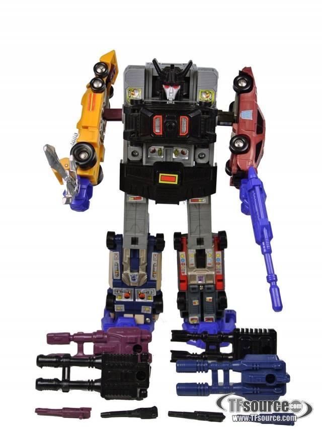 Transformers G1 - Stunticons - Menasor - Loose - 100% Complete