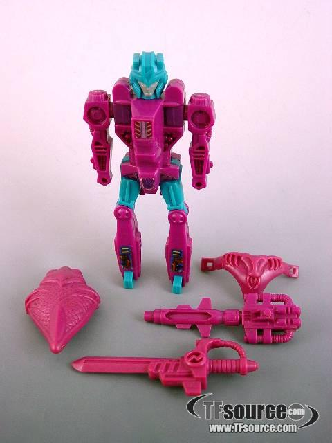 Transformers G1 - Submarauder - Loose - Missing Pretender Shell