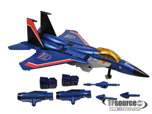 Transformers G1 - Thundercracker - Loose - Missing 1 machine gun