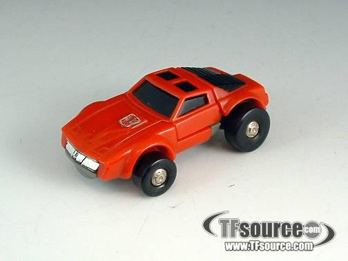 Transformers G1  - Minibot - Windcharger - Loose - 100% Complete