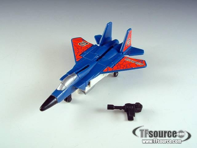 Transformers G2 - Air Raid - Loose - 100% Complete