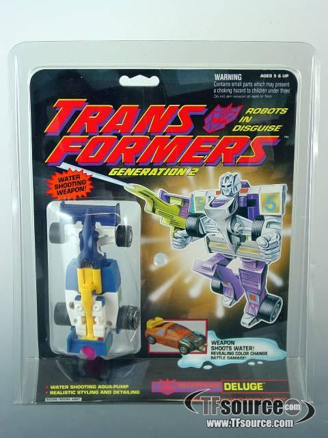 Transformers G2 - Deluge