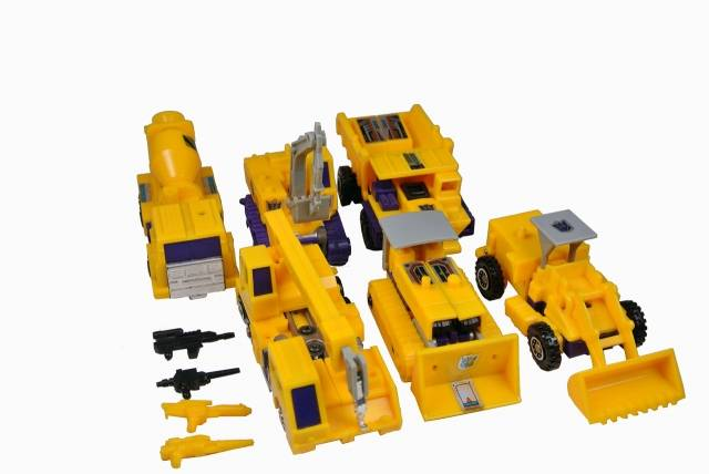 Transformers G2 - Devastator - Loose