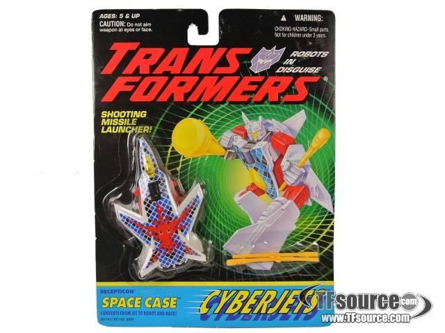 Transformers G2 - Space Case - MOSC