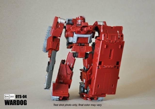 BadCube BC TF OTS-04 Wardog,Restock!