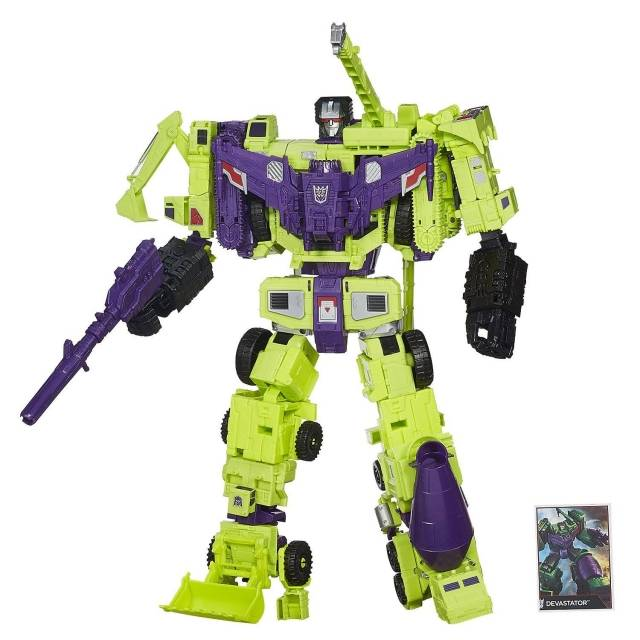 Transformers Generations Combiner Wars Devastator   Titan Class