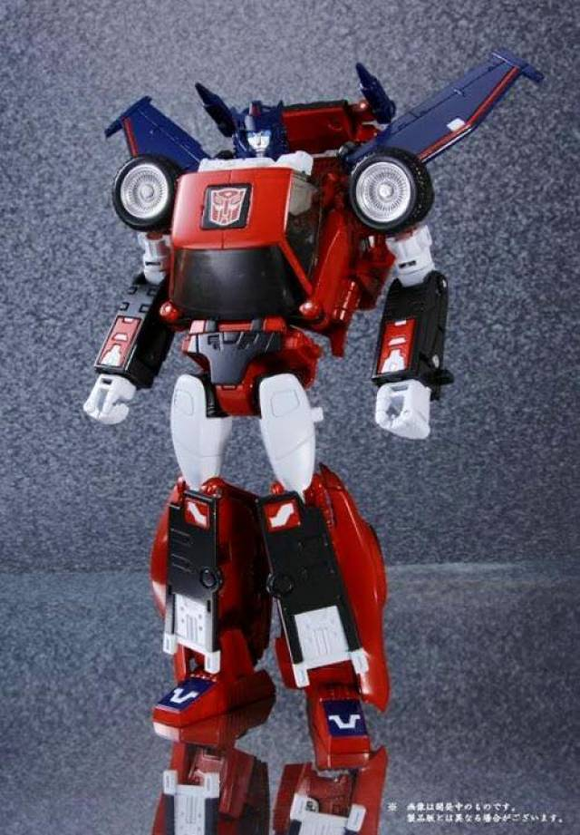 [Masterpiece] MP-25L LoudPedal (Rouge) + MP-26 Road Rage (Noir) ― aka Tracks/Le Sillage Diaclone Reduced-galery_image_10393_16352