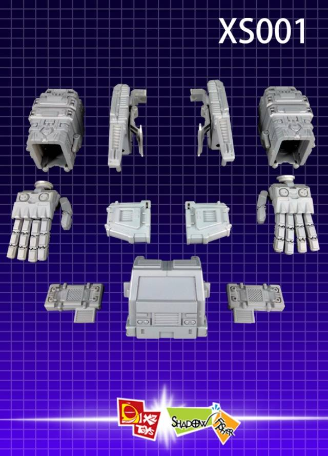 x2 toys xs001 kit upgrade set for titan class devastator. Black Bedroom Furniture Sets. Home Design Ideas