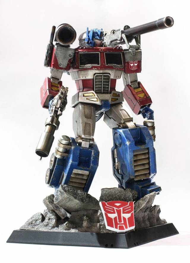 Hot Toys - G1 Optimus Prime (Megatron Version) - Asia ...