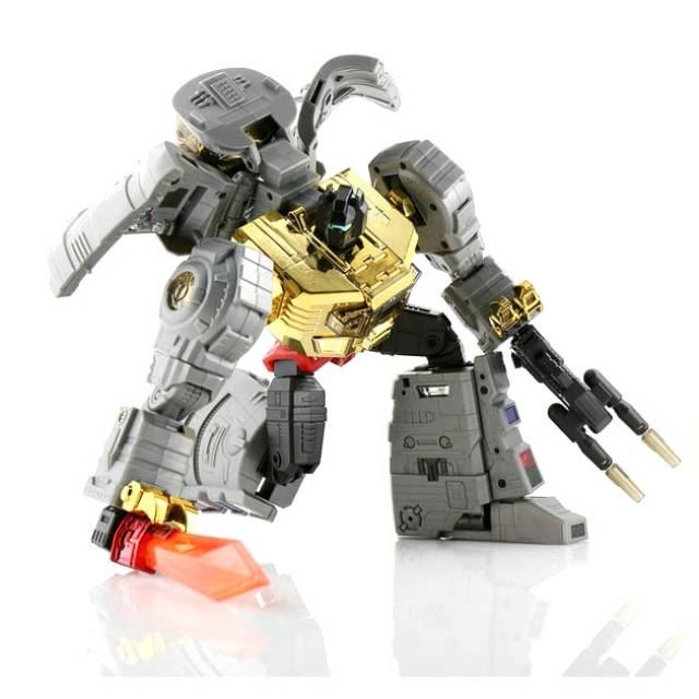 Transformers Fans Toys FT-08 Masterpiece MP Grimlock Grinder head in Stock