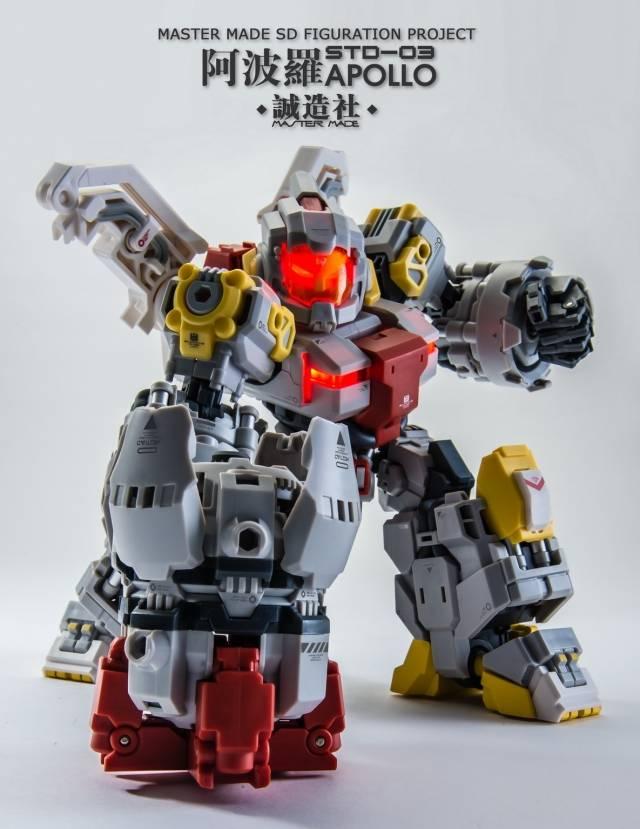 New Master Made Mega Series SDT-03 Apollo Figure In Stock