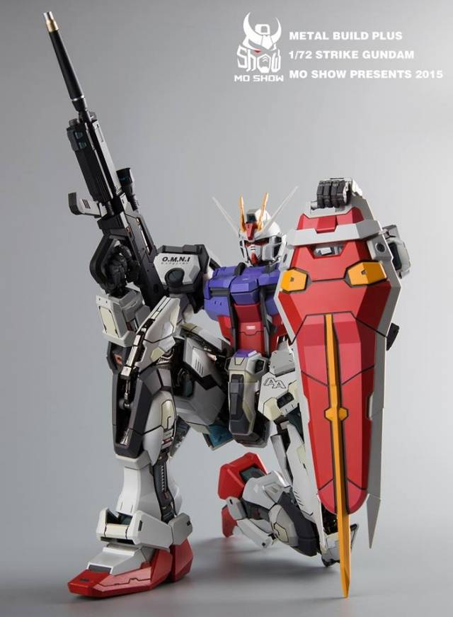 10 Metal Build Perfect Strike Gundam Pictures