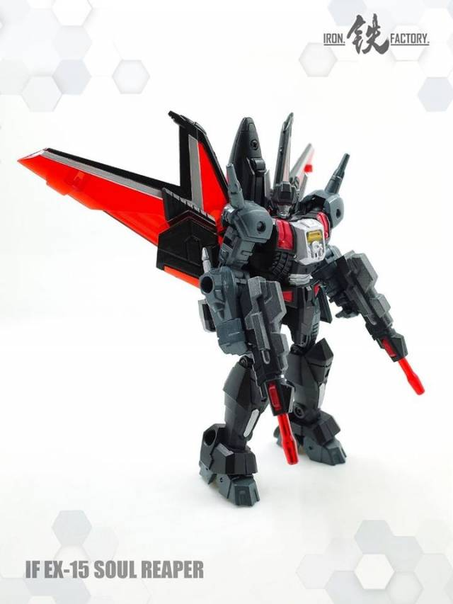 New Transformers IronFactory IF-EX15 Soul Reaper Party Legends Scaled in Stock