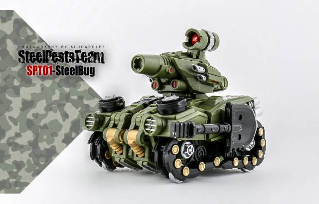 STEEL PESTS TEAM SPT01 STEEL BUG,In stock!