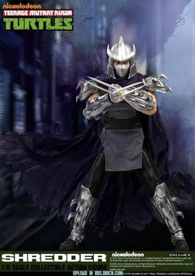 Dream Ex Teenage Mutant Ninja Turtles 1 6 Scale Shredder