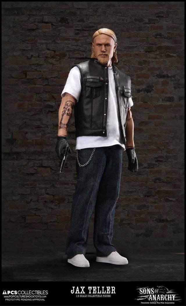 Pop Culture Shock - Sons of Anarchy - 1/6 Jax Teller