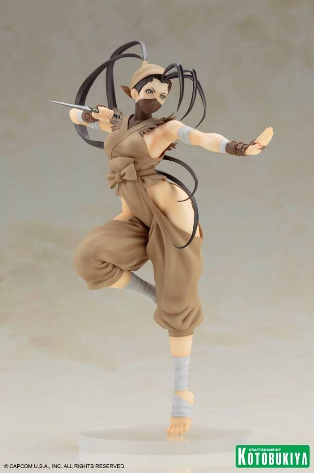 Kotobukiya Street Fighter Bishoujo Ibuki Statue