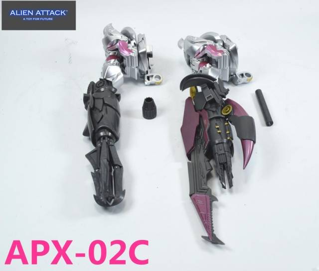 New Alien Attack APX-02 ARMS For Transformers Leader Class Megatron In Stock