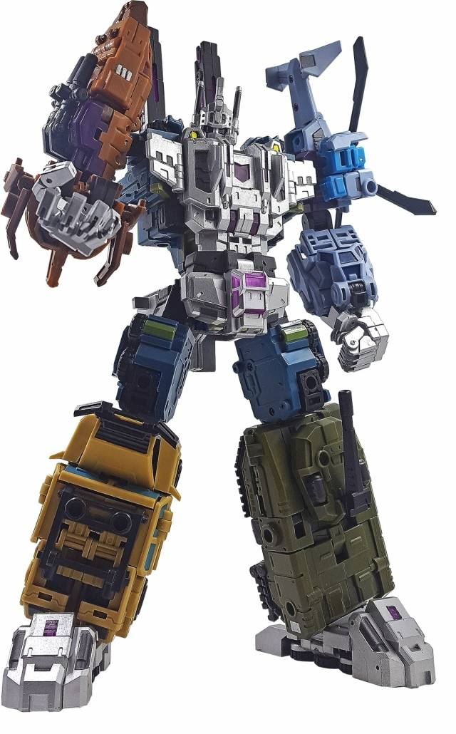 In Stock MISB Iron Factory Transformers IF EX-23 War Giant Set of 2