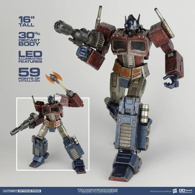 Transformers optimus prime premium edition actionfigure tomy japan.