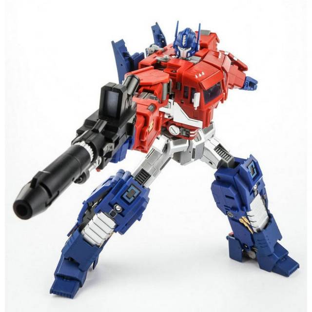 P in Stock New Transformers Generation Toy GT-03B IDW Black Optimus Prime O