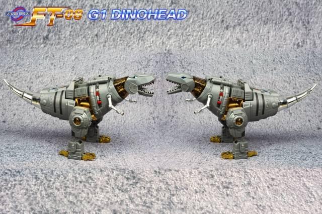 Transformers Head Kit For FanToys FT-08 Grimlock G1 Dinohead