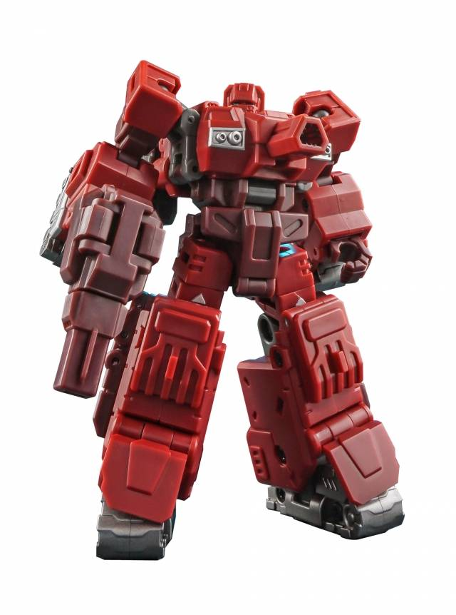 New Iron Factory Transformers IF EX-28 Burning Slug Warpath Figure In Stock