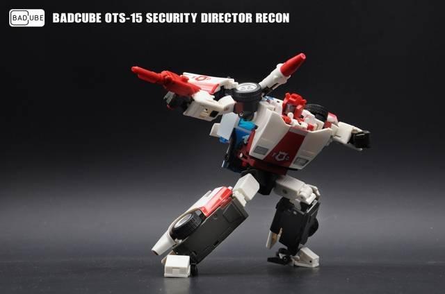 Transformers BadCube OTS-15 Recon in Stock Kit