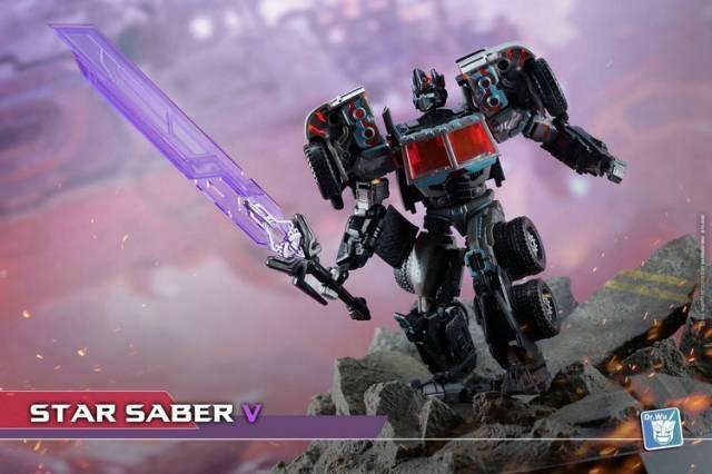 Wu New Transformers DR DW-TP08 Purple Skybreaker Sword In Stock