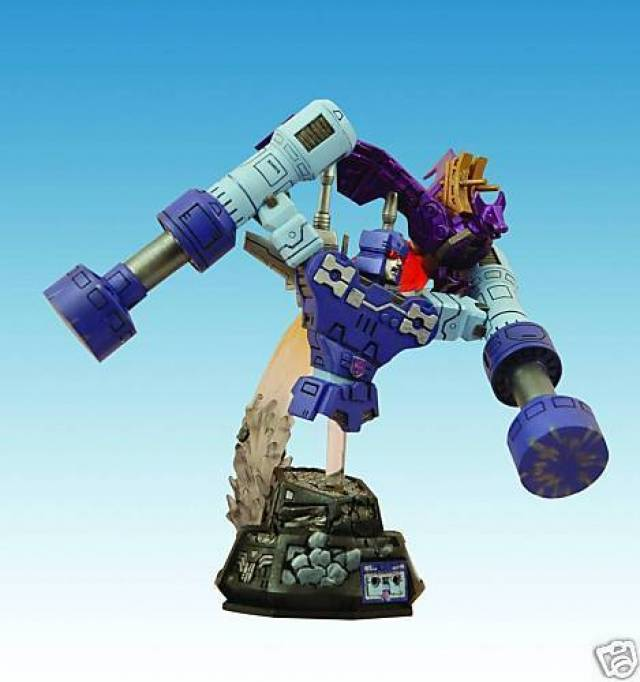 transformers g1 rumble bust with ratbat