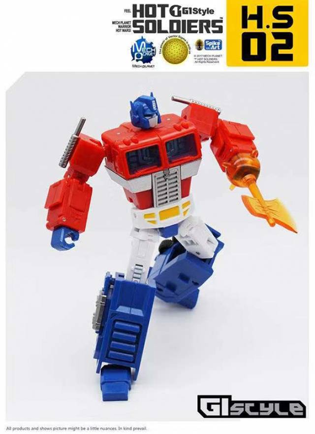 New Transformers Toys Hot Soldiers HS-02 Optimus Prime mini Action figure
