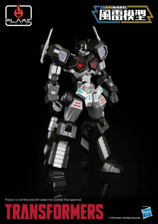 furai model 01 nemesis prime attack mode exclusive variant