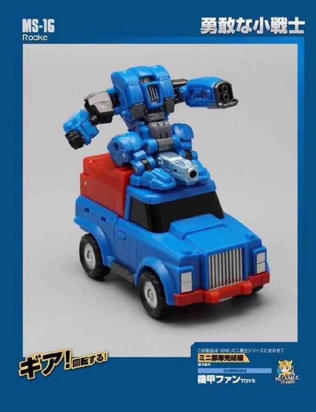 Transformers Mechanic Studio MS-17 Spiale New Sealed