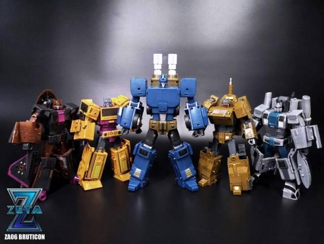 New Zeta toys Transformers ZA-02 Armageddon Whirlblade Vortex Figure In Stock