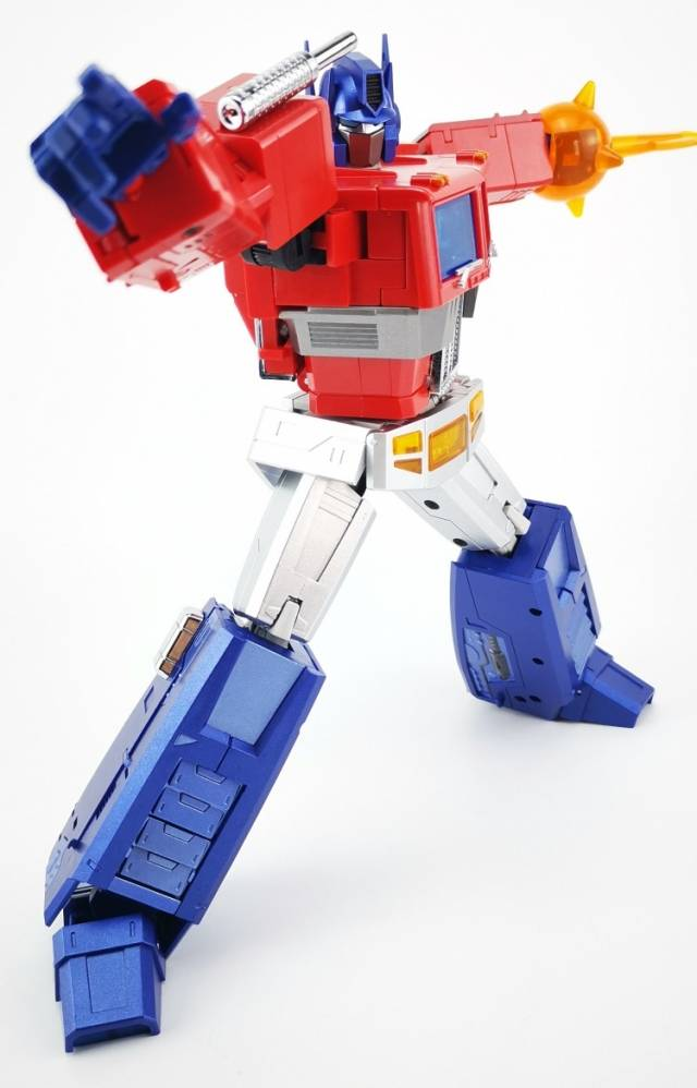 New Transformers MS-TOYS MS-01X Optimus Prime Metallic color MP 3.0 ver in stock