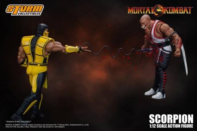Storm Collectibles Mortal Combat 1 12 Scorpion