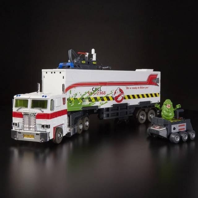 Transformers SDCC ECTO-35 Ghostbusters Optimus Prime Action Figure In Stock NEW